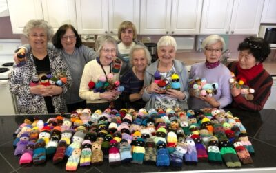Spreading kindness one stitch at a time